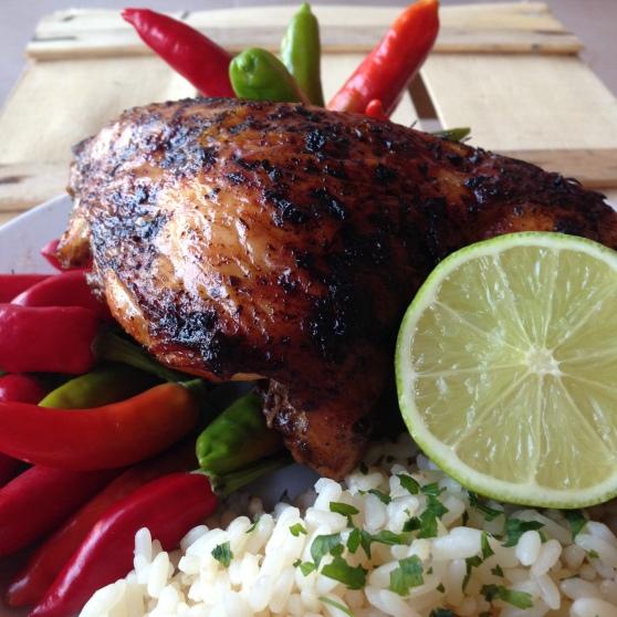 Pollo alla giamaicana